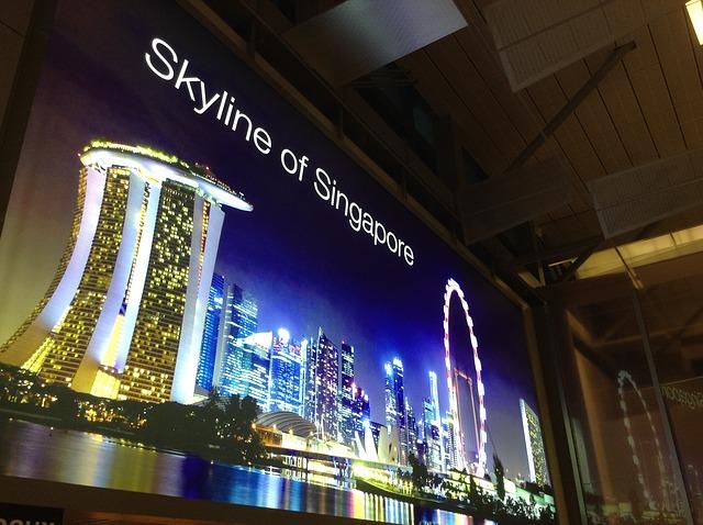 singapur reklama